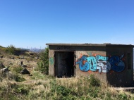Abandoned war time outposts