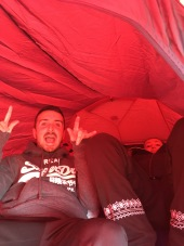 3 in the tent and the little one said..